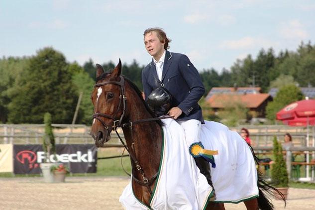 Der Sieger des Großen Preises - Christian Rhomberg
