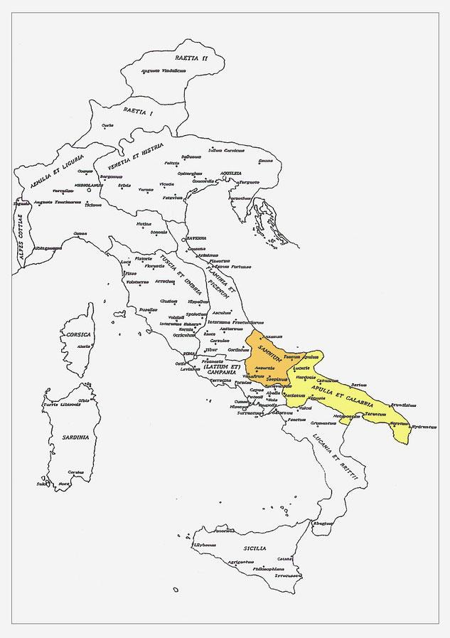 Diocesi Italiciana alla metà del IV secolo