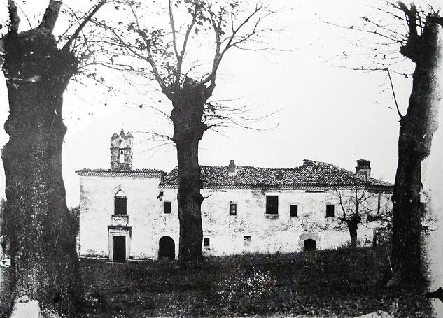 Convento dei Cappuccini di Larino nel 1918
