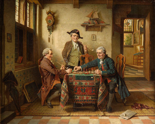 Charles Webb, Schachpartie