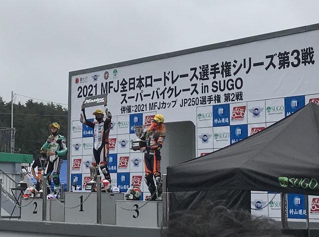 大金運輸 全日本ロードレース 高杉奈緒子
