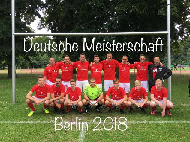 Schiedsrichermannschaft bei der Deutschen Meisterschaft Berlin 2018