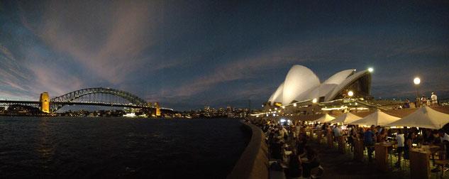 l'Opéra House et le Harbour Bridge - Sydney