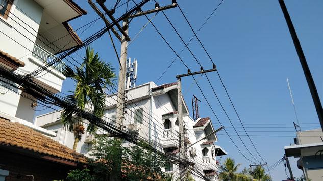 les installations électriques version thaï