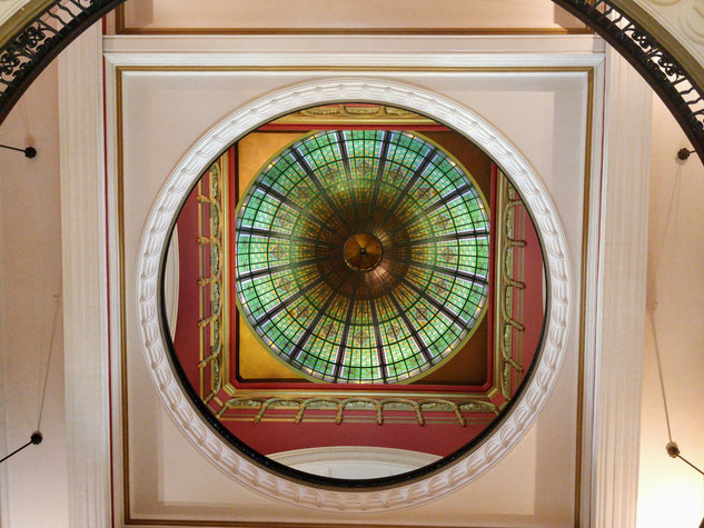 la jolie coupole du Queen Victoria Building