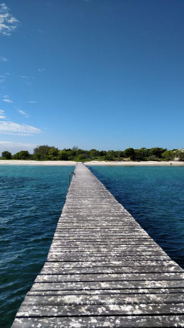 Au bout du ponton, le paradis