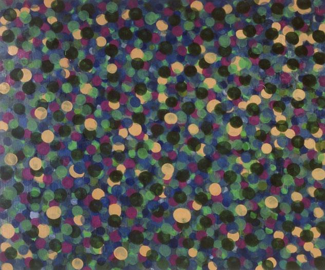 水場P.12(M川~栗の木の下.Ⅲ)     キャンバスに油彩   162×194cm