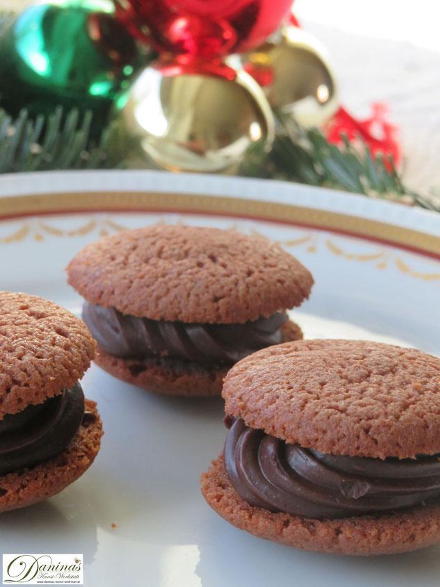 Rezept: Nero Kekse mit Pariser Creme. Weihnachtsplätzchen Konditor-Rezept by Daninas Dad.