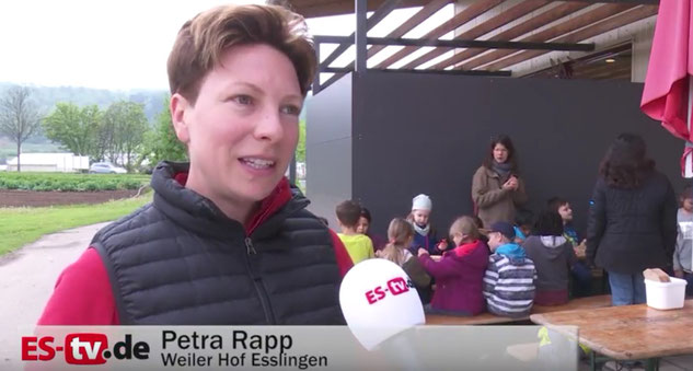 ES-TV im Interview mit Petra Rapp