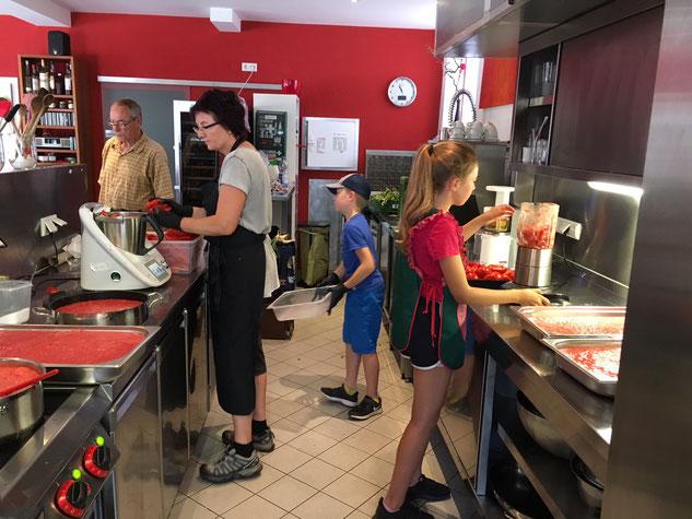 Immer dabei - Sonja Lenz von der Kochschule Sonja Lenz in S-Hedelfingen