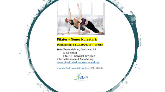 Fit mit Pilates durch den Winter.