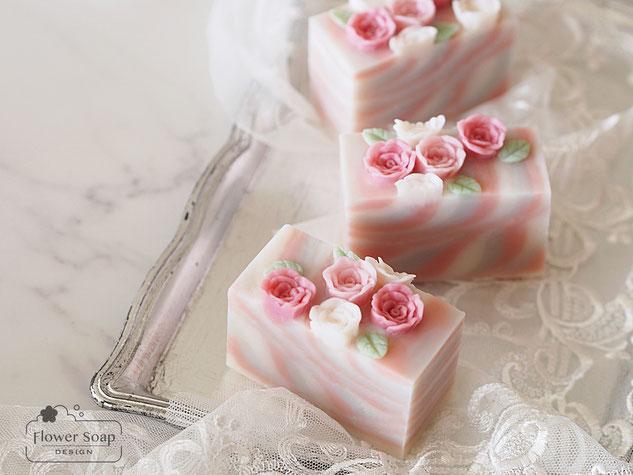バラの石けん きれいな石けん プレゼント ギフトソープ