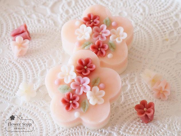 お花の石けん 可愛い石けん フラワーソープ 花の石けん