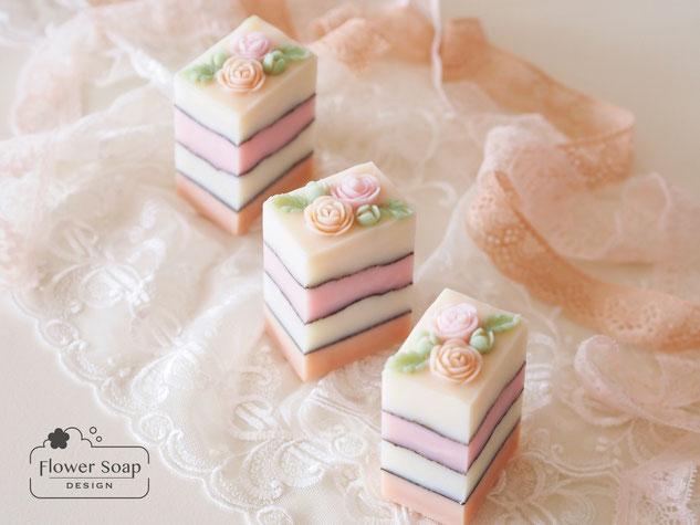 デザイン石けん アート石けん  soap  ハンドメイド