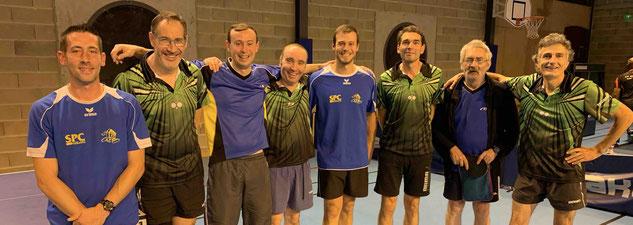 Benoit, Jean-Christophe, Cédric, Vincent, Julien, Christophe, Serge et Jean-Michel