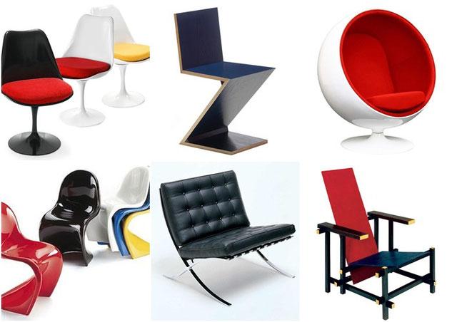Algo de dise o industrial top 10 sillas m s famosas for Sillas de diseno moderno