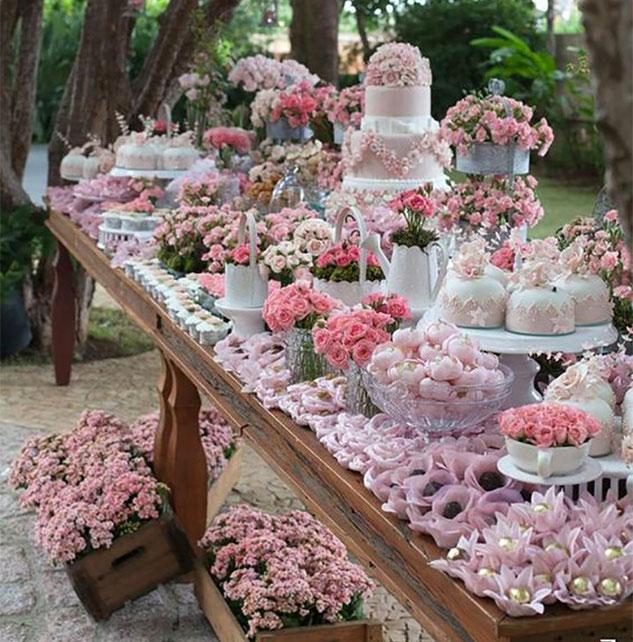 mesa de dulces para matrimonio