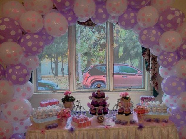 mesa de dulces princesa sofia