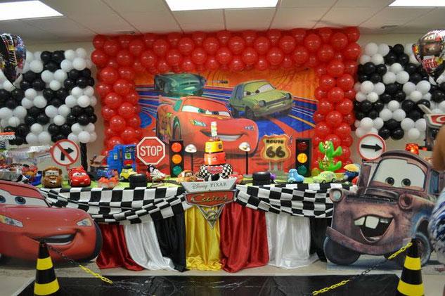 fiesta de cumpleaños de cars