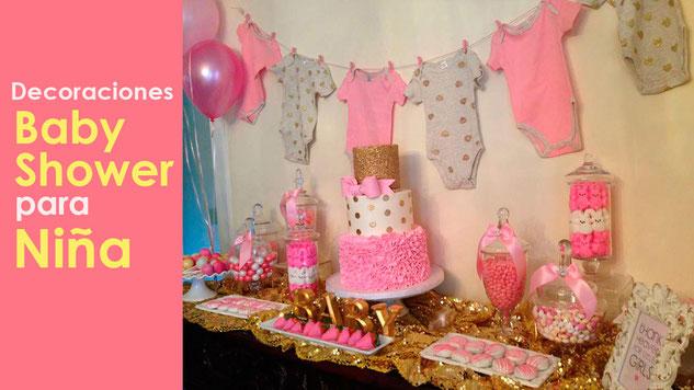 decoracion baby shower de niña