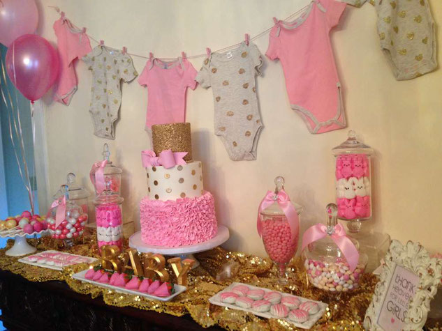 Ideas De Decoracion Baby Shower Nina.Decoracion Baby Shower Nina Decoracion Para Fiestas