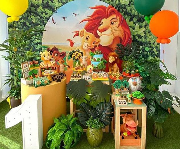 ideas cumpleaños del rey leon