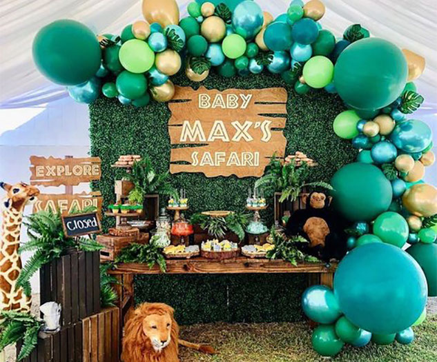 baby shower estilo safari