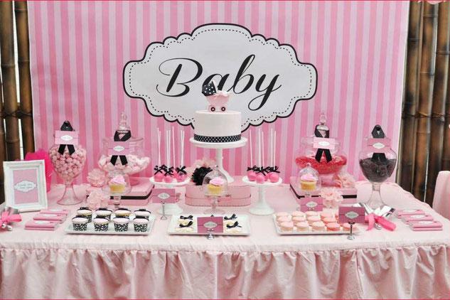 baby shower de niña decoracion