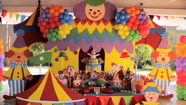fiesta tematica circo