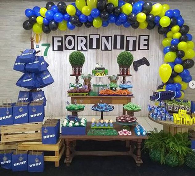 decoracion cumpleaños video juegos