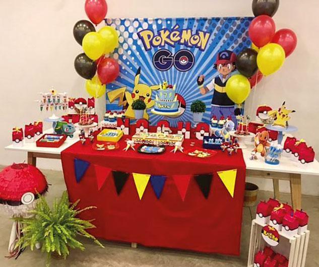 fiesta tematica de pokemon