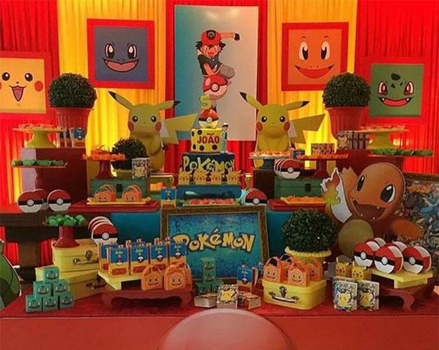fiesta infantil de pokemon