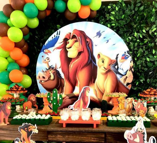 cumpleaños rey leon
