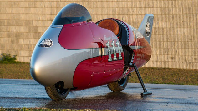 Indian Motorcycle Spirit of Munro Streamliner