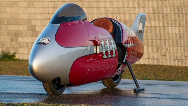 Indian Motorcycle Spirit of Munro Streamliner