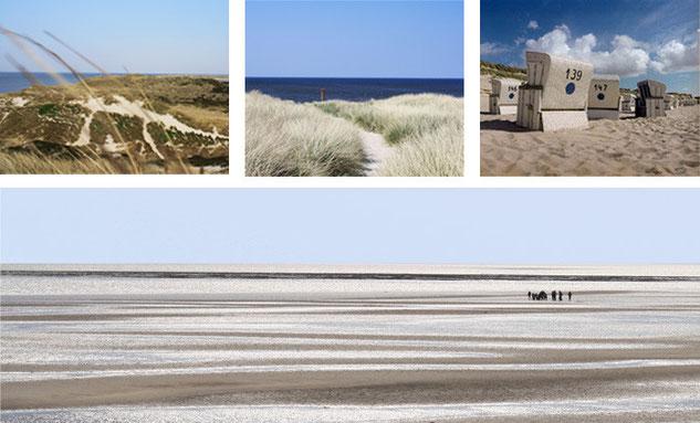 Strand, Düne, Meer