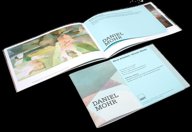 Daniel Mohr, Neue Arbeiten, Recent Works, Cover, Buch, Book, Katalog, Catalogue, Layout, Gestaltung, Buchgestaltung, Typografie, Typography, claasbooks, Claas Möller
