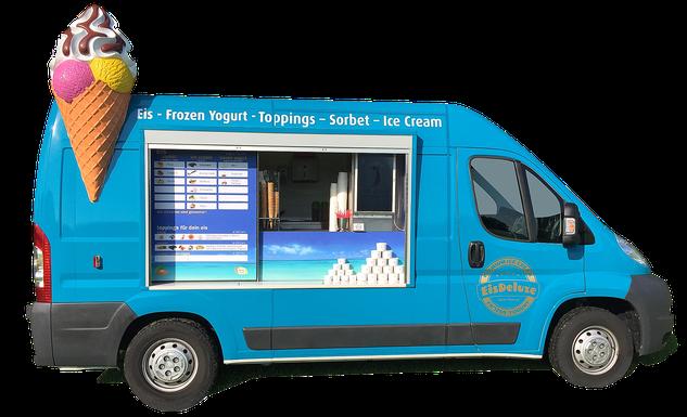 Eiswagen  mieten und buchen in Frankfurt