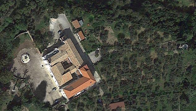 Larino Convento dei Frati Cappuccini veduta dall'alto