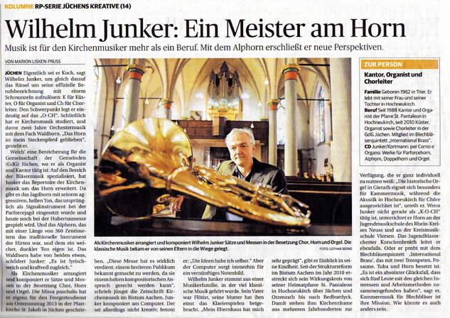 Rheinische Post November 2013