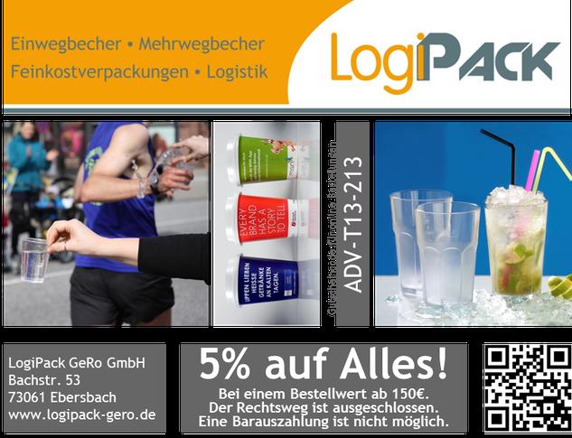 LogiPack Gutschein 5% auf Alles!