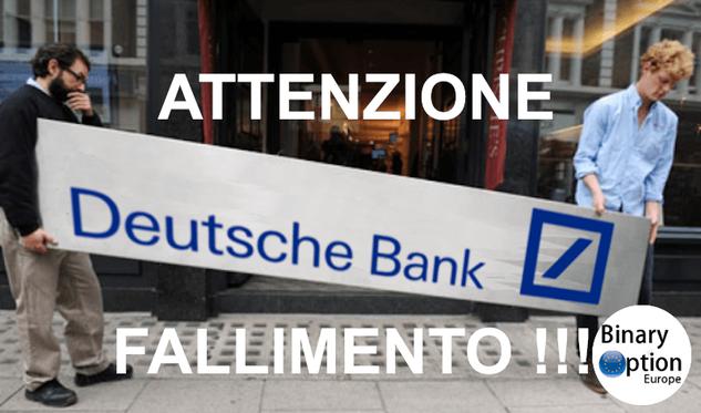 crisi deutsche bank 2016