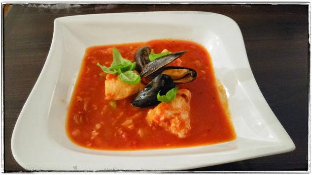 Italienische Fischsuppe Zuppa di pesce