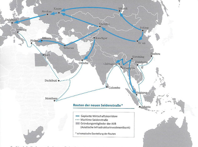 """A view of the """"Belt and Road Initiative"""""""