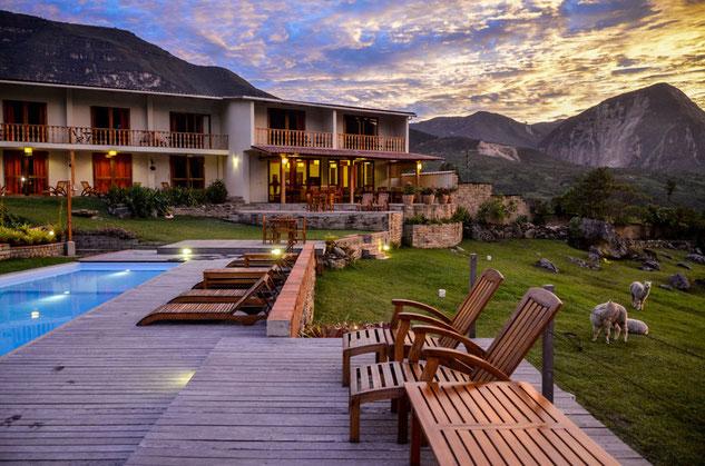 Mitten in der Natur - PERUline bucht Ihnen die Nacht in der Gocta Andes Lodge