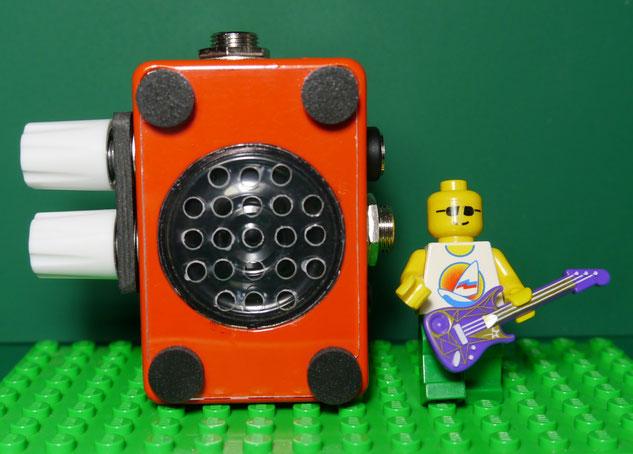 コンボタイプ小型真空管ギターアンプ自作 DIY Micro Guitar Amp - Small Guitar Tube Amp Combo