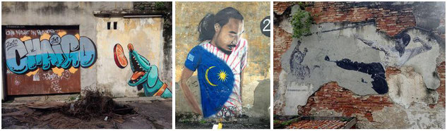 Penang Street Art Pictures - Click here