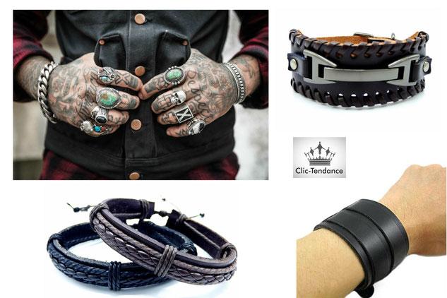 Look Homme la Tendance gourmette-bracelet