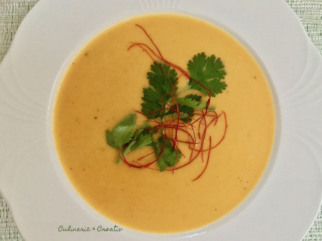 Paprika Ingwer Curry Suppe