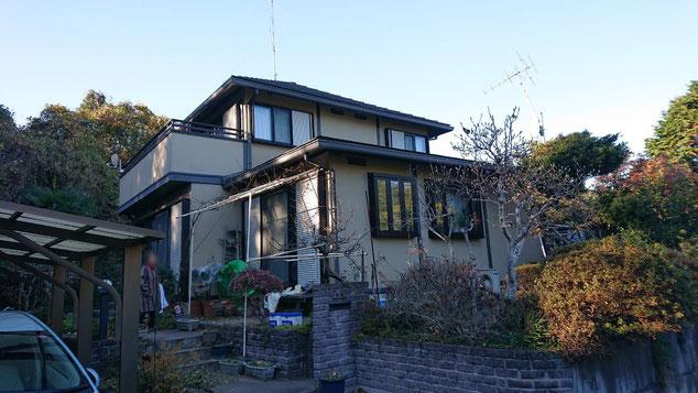 大網白里市の屋根・外壁塗装